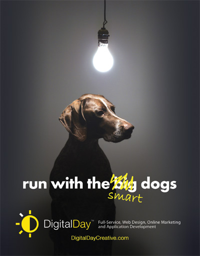 DigitalDay Print Ad, circa 2007