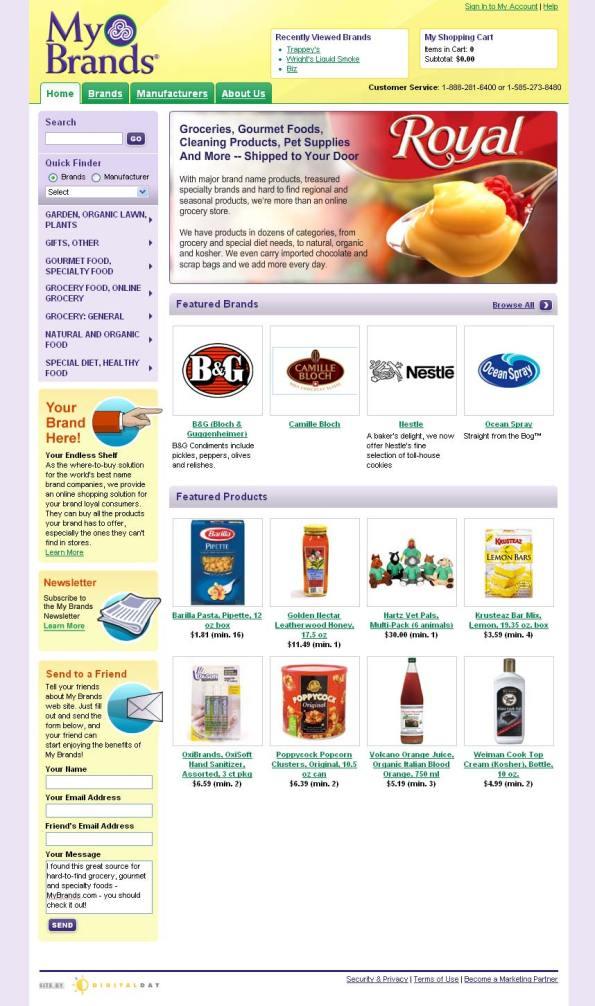 My Brands Online Grocery