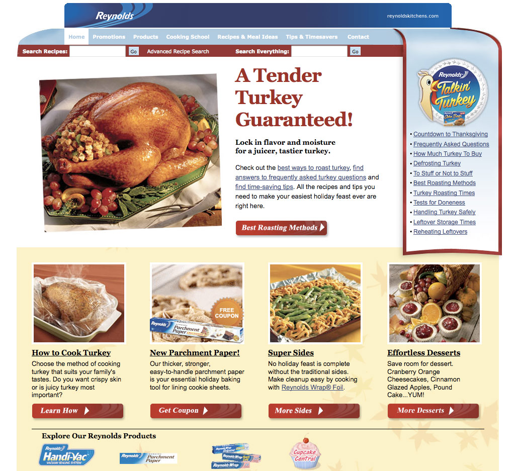 Reynolds Kitchen Thanksgiving Facelift