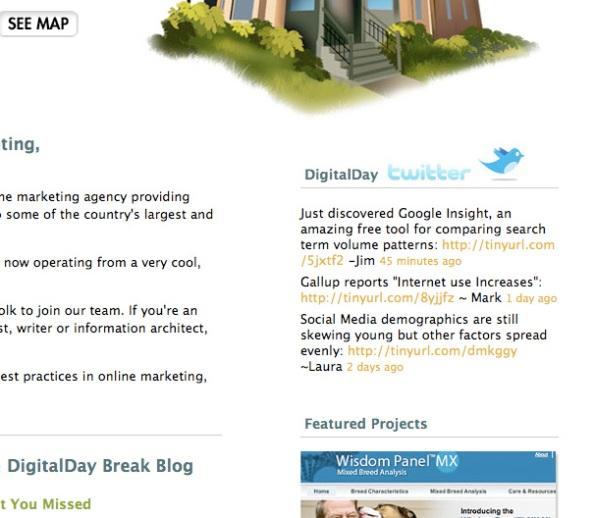 DigitalDay's Twitter Integration