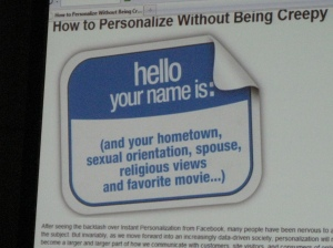 How to Personalize Web Content Without Being Creepy