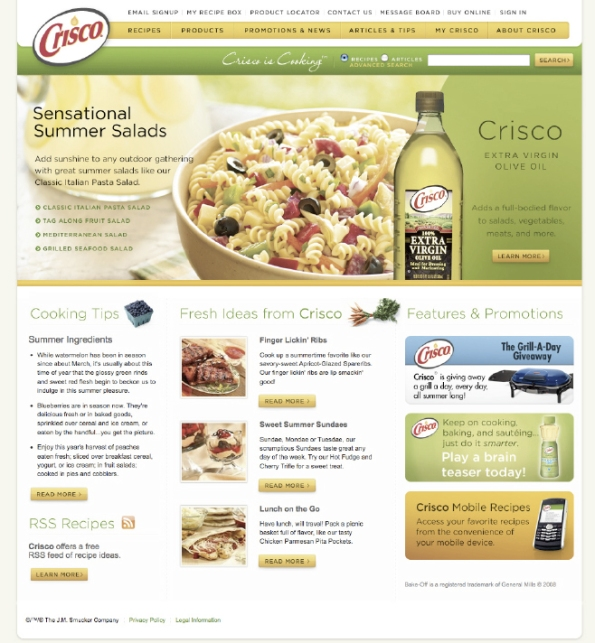 Food cpg digitalday break web design news design development email marketing design and delivery through silverpop online promotion development managed web hosting recipe database design forumfinder Gallery